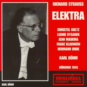 Strauss: Elektra Albumcover