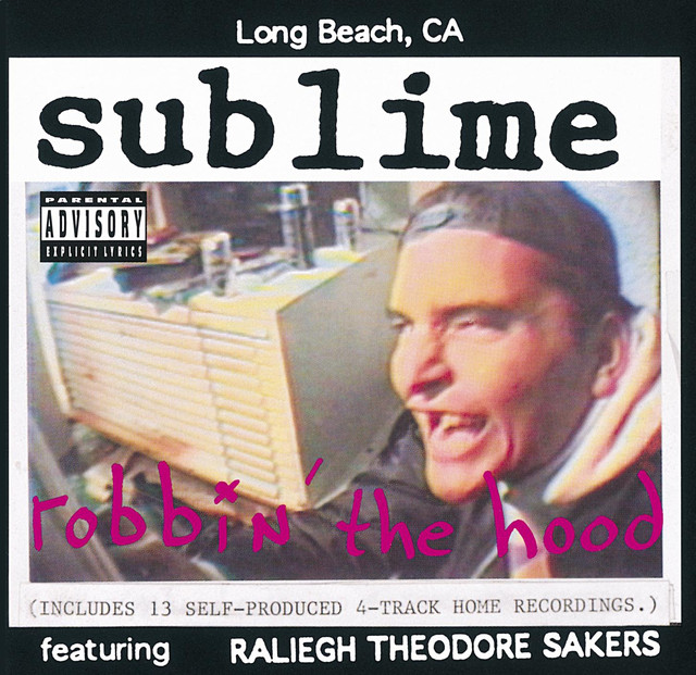 Sublime Robbin' the Hood album cover