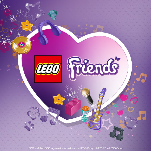 lego friends on spotify