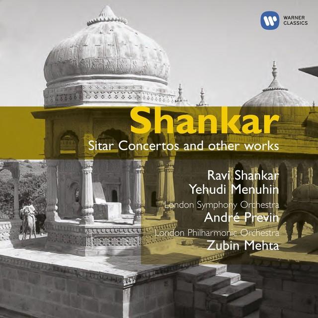 Shankar: Sitar Concertos etc. Albumcover