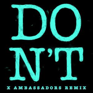 Don't (Xambassadors Remix) Albümü