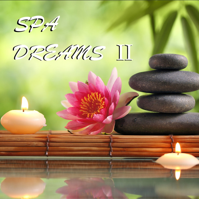 Album cover for Spa Dreams 2 by Cameron, Yoga Music, Meditation Spa
