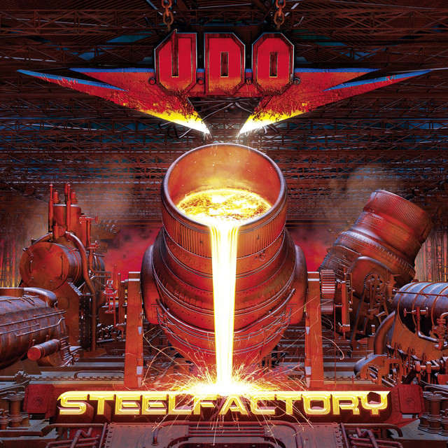Album cover for Steelfactory by U.D.O.