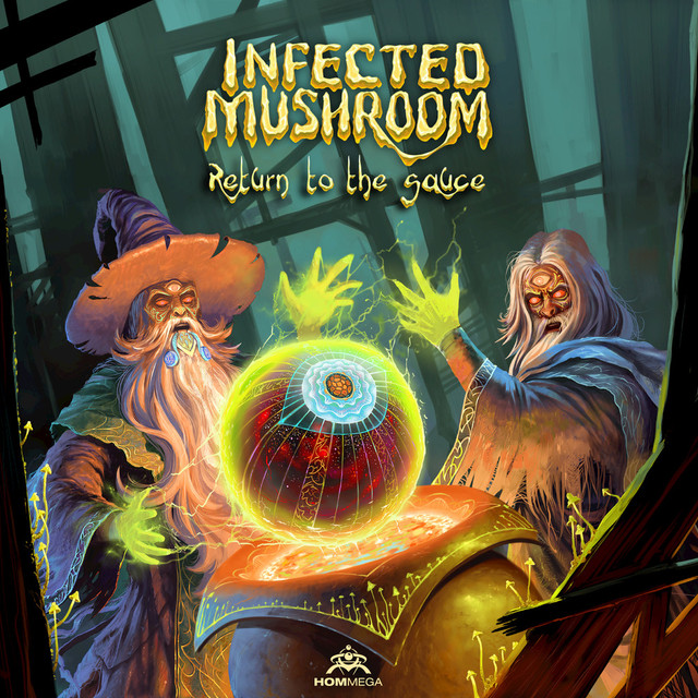 Album cover for Return to the Sauce by Infected Mushroom