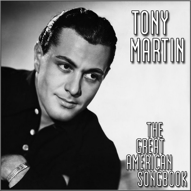 Tony Martin The Great American Song Book album cover