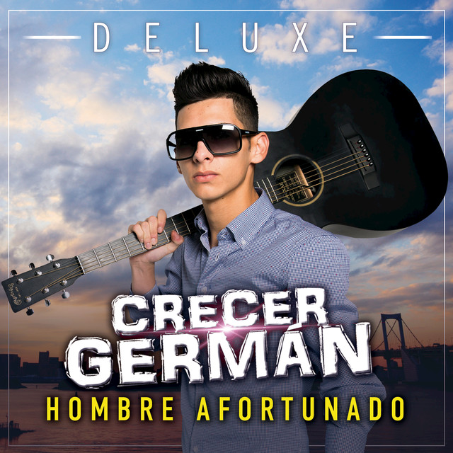 Album cover for Hombre Afortunado (Deluxe) by Crecer German