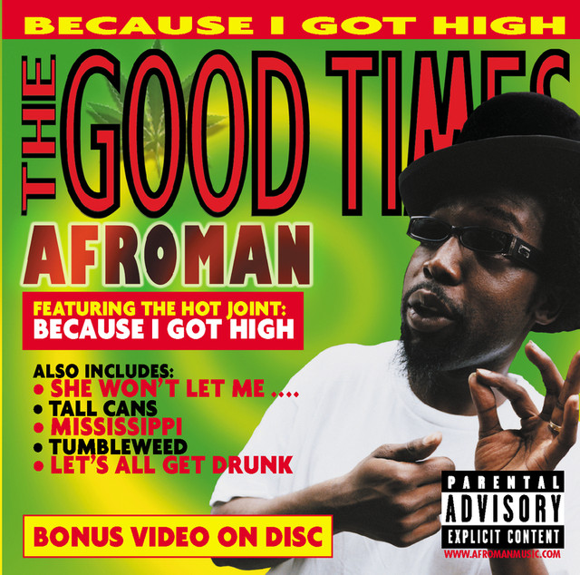 Album art exchange the good times by afroman album cover art.