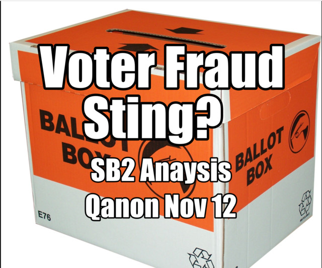 Part I: Voter Fraud Sting? SB2 Analysis , an episode from