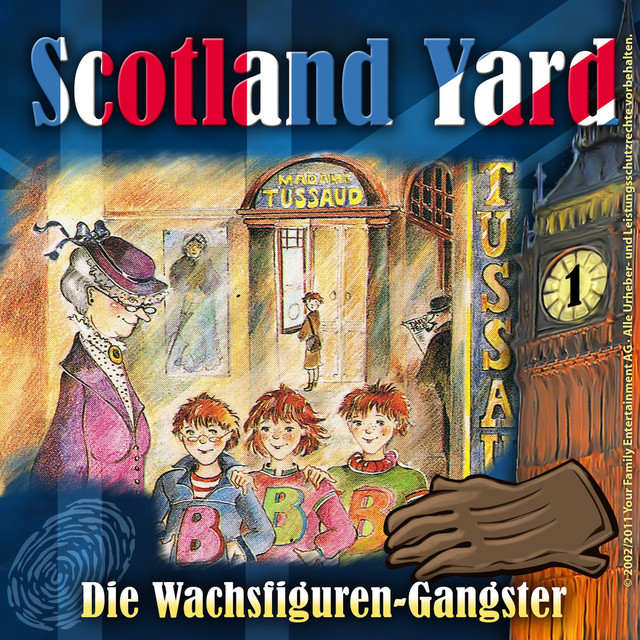 Folge 1: Die Wachsfiguren-Gangster Cover