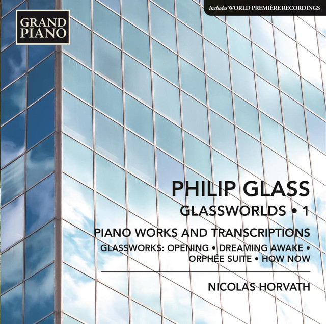 Glass: Glassworlds, Vol. 1 Albumcover