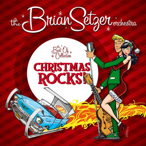 Brian Setzer Dig That Crazy Santa Claus cover
