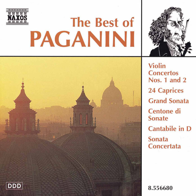 PAGANINI (THE BEST OF) Albumcover
