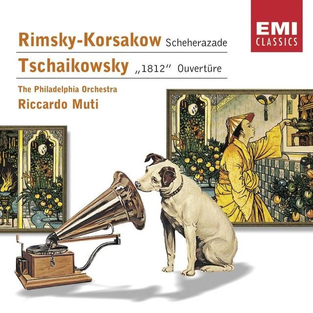 Rimsky-Korsakow: Scheherazade - Tschaikowsky: '1812' Ouvertüre Albumcover