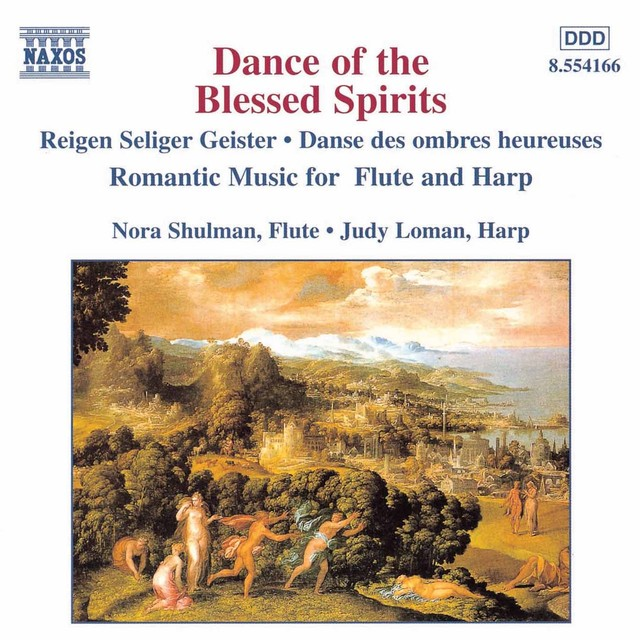 Dance Of The Blessed Spirits Albumcover