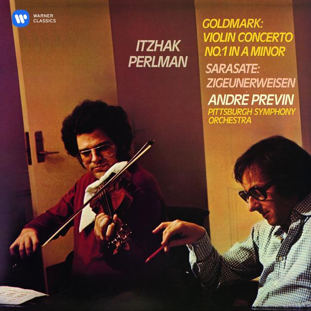 Goldmark: Violin Concerto - Sarasate: Zigeunerweisen Albumcover