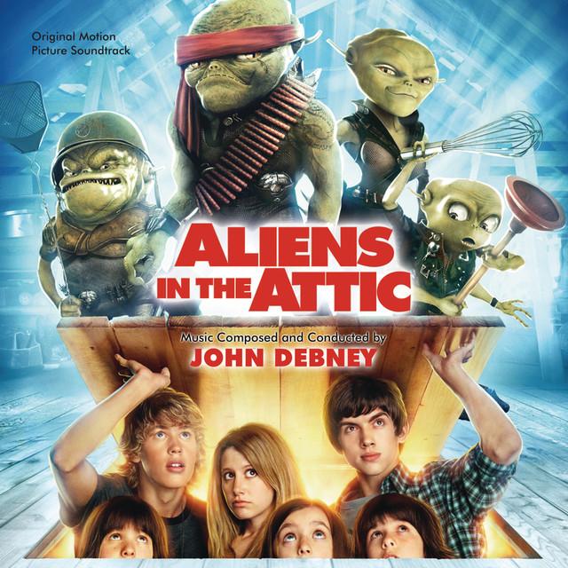 Aliens In The Attic (Original Motion Picture Soundtrack) Albumcover