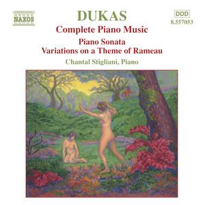 Dukas: Piano Sonata / Variations On A Theme of Rameau Albümü