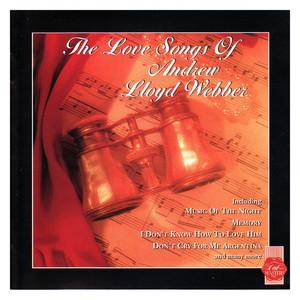 The Love Songs of Andrew Lloyd Webber Albumcover