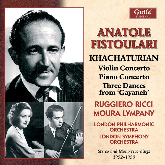 "Khachaturian: Concertos & 3 Dances from ""Gayaneh"""