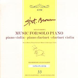 Music for Solo Piano album