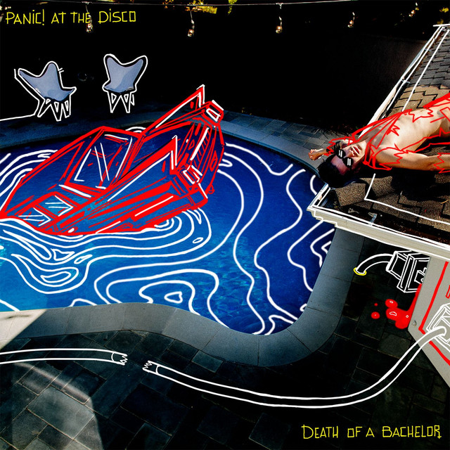 Panic! at the Disco Death of a Bachelor album cover