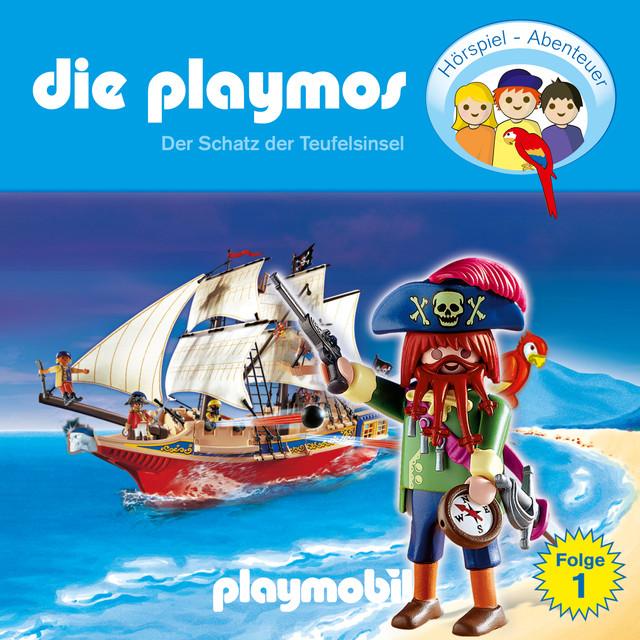 Folge 1: Der Schatz der Teufelsinsel (Das Original Playmobil Hörspiel) Cover