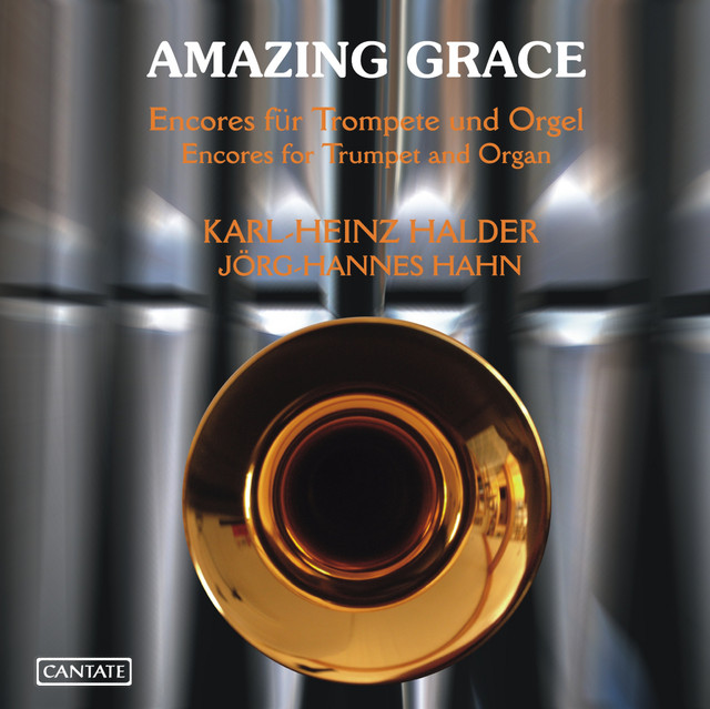 Amazing Grace: Encores for Trumpet and Organ Albumcover