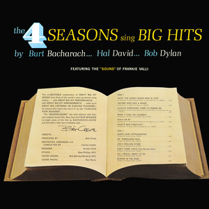 Frankie Valli & The Four Seasons - Sing Big hits by Burt Bacharach...Hal David...Bob Dylan