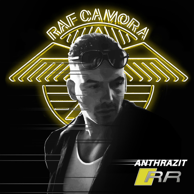 Album cover for Anthrazit RR by RAF Camora