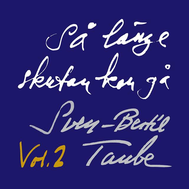 Skivomslag för Sven-Bertil Taube: Så Länge Skutan Kan Gå, Volym 2