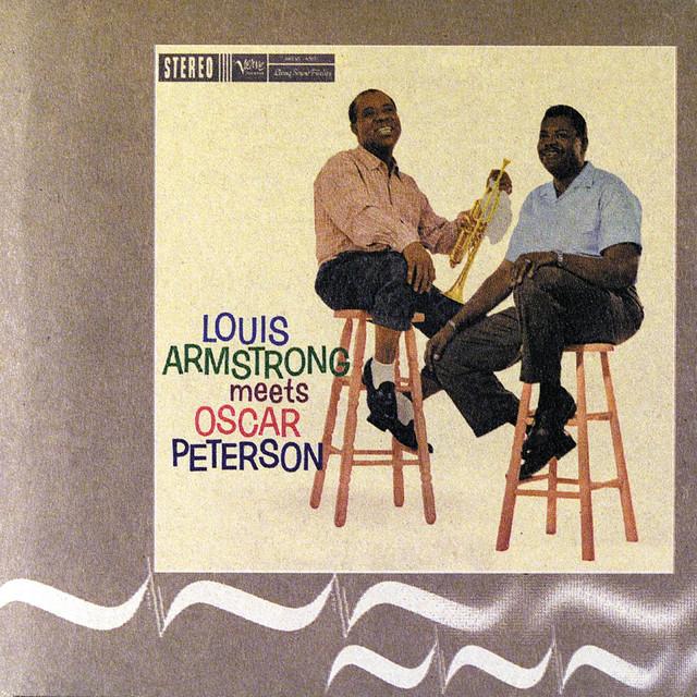 Louis Armstrong, Oscar Peterson Louis Armstrong Meets Oscar Peterson album cover