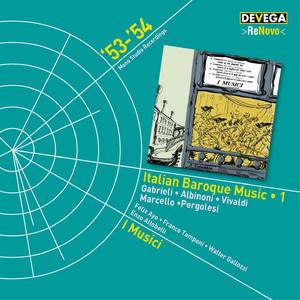 Italian Baroque Music, Vol. 1 album