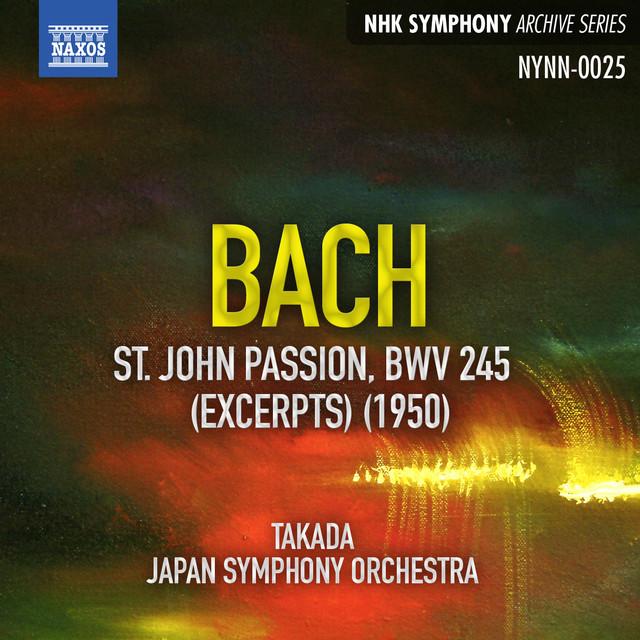 Bach: St. John Passion (Live) Albumcover