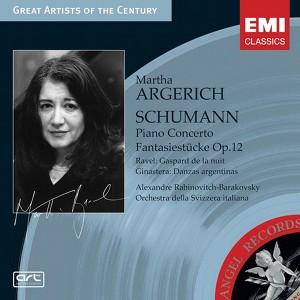 Schumann: Piano Concerto & Fantasiestücke, Op.12 Albumcover