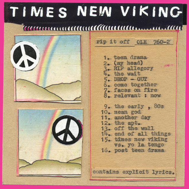 Album cover for Rip It Off by Times New Viking