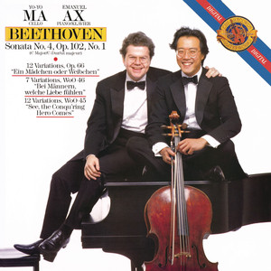 Beethoven: Cello Sonata No.4; Variations (Remastered) Albumcover