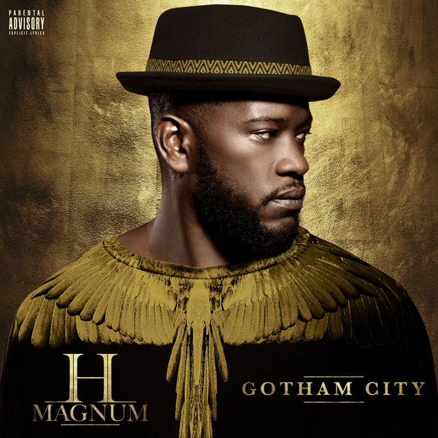 Album cover for Gotham City by H Magnum