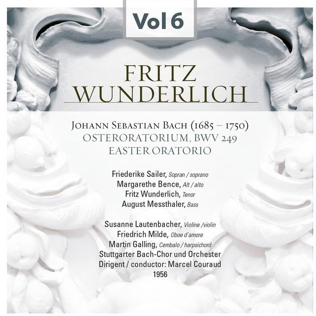 Fritz Wunderlich, Vol. 6 (1956) Albumcover