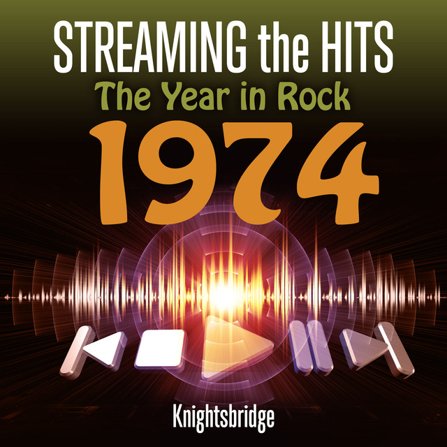 Streaming the Hits - The Year in Rock 1974 Albumcover