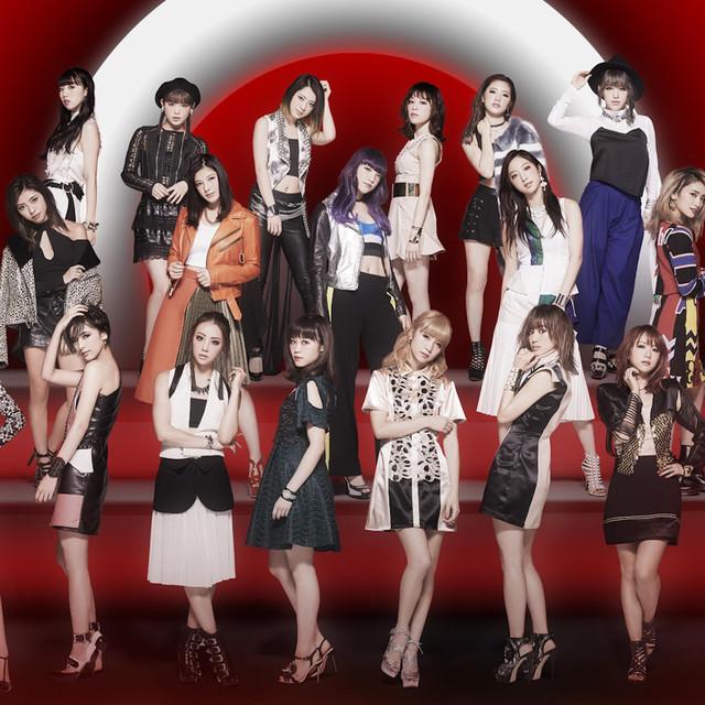 E-girlsのライブの画像