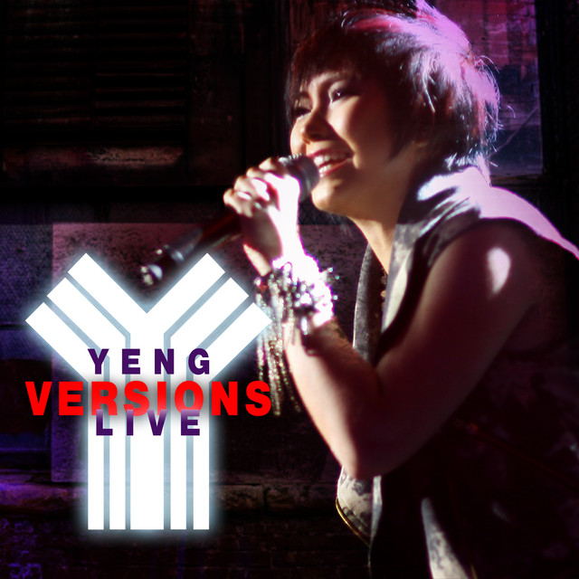 Yeng Constantino YENG VERSIONS LIVE album cover