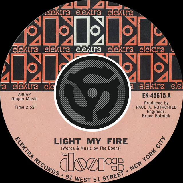 Light My Fire / Crystal Ship [Digital 45] & Kurrent Music // Artist Info Pezcame.Com