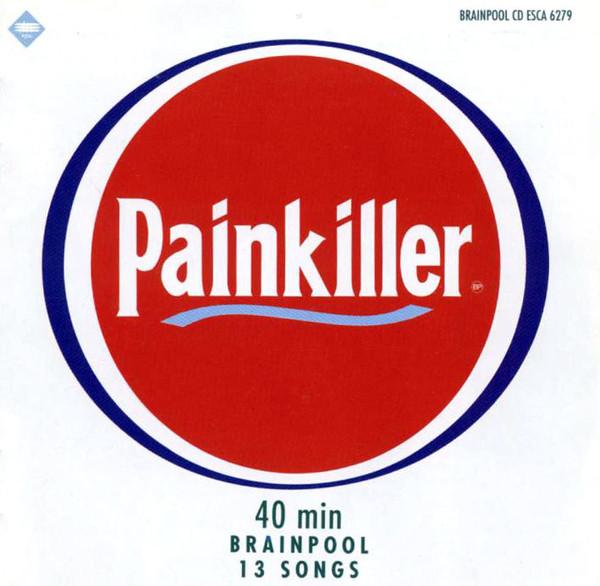 Skivomslag för Brainpool: Painkiller