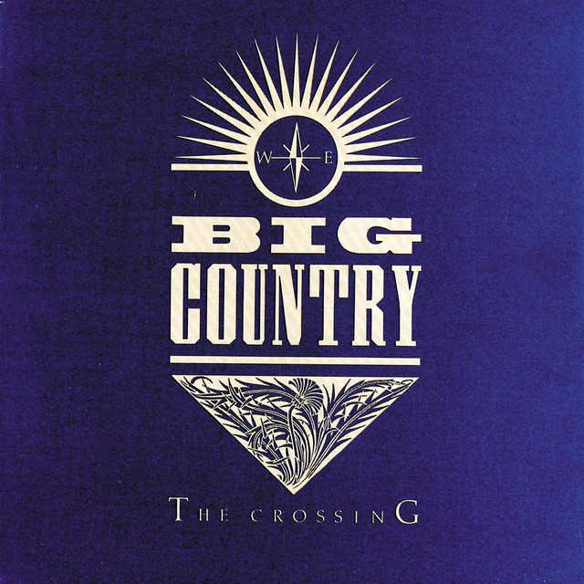 Big Country The Crossing album cover