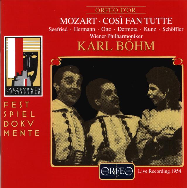 Mozart: Così fan tutte, K. 588 (Live 1954)