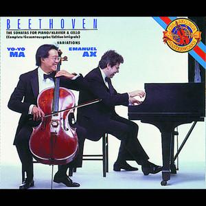 Beethoven: Complete Cello Sonatas Albumcover
