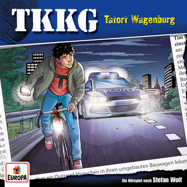 Album cover for 196/Tatort Wagenburg by TKKG