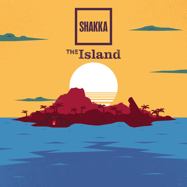 Album cover for The Island - EP by Shakka