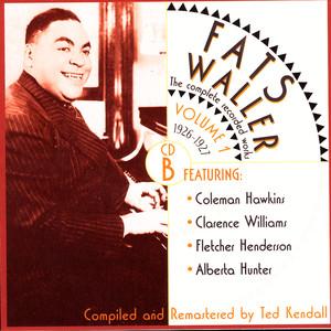 Alberta Hunter, Fats Waller Beale Street Blues cover