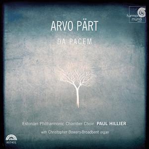 Arvo Pärt / Estonian Philharmonic Chamber Choir / Paul Hillier